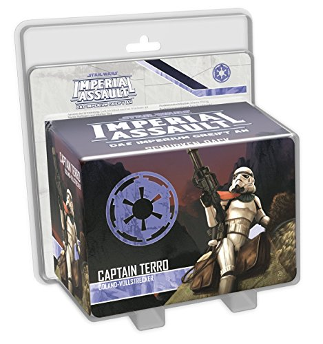 Fantasy Flight Games FFGD4540 Star Wars: Imperial Assault - Captain Terro Schurken-Pack