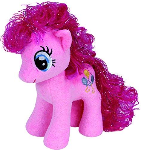 TY 90200 - My Little Pony - Schmusetier pinkie Pie, groß, 24 cm