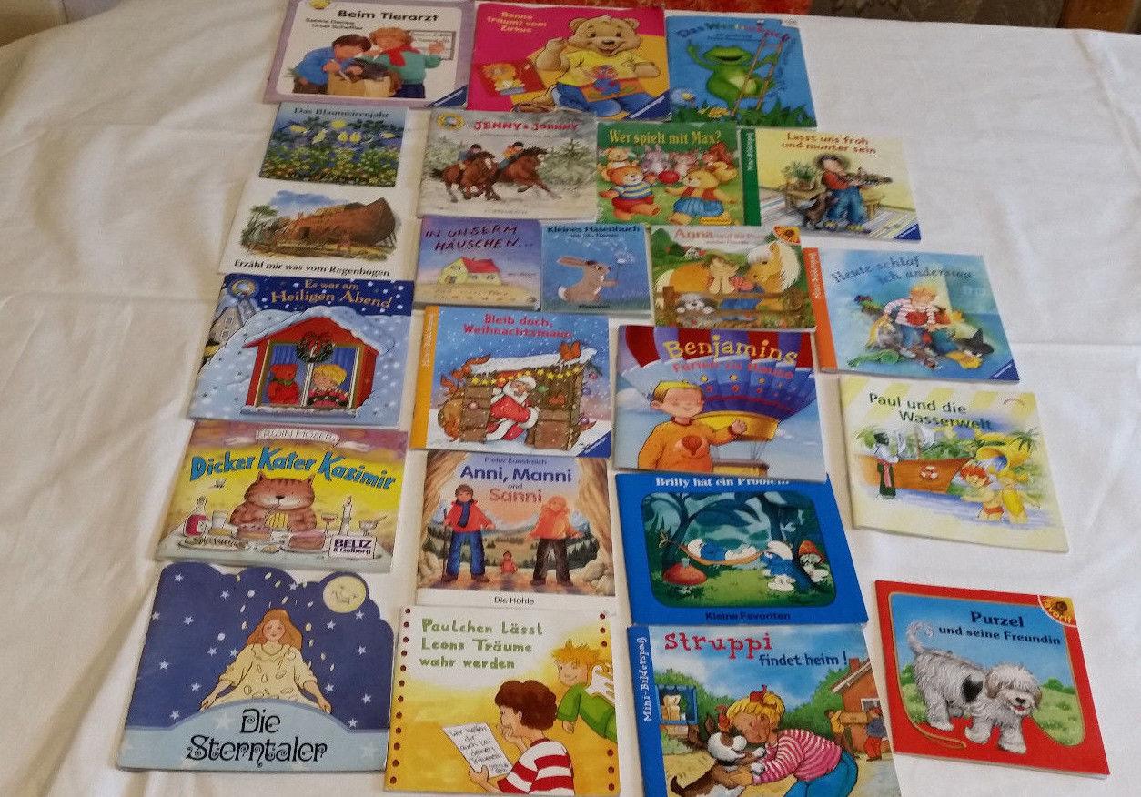 Konvolut kleine Kinderbücher, siehe Fotos - 23 Stück