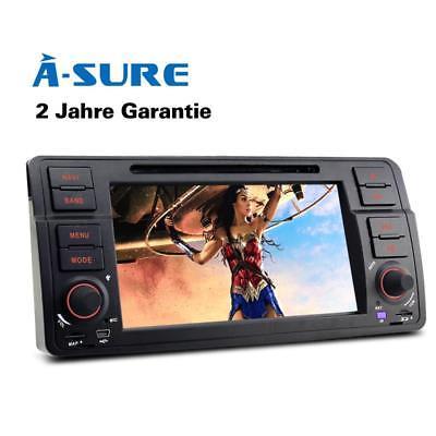 Autoradio Bluetooth GPS für BMW E46 M3 325 3er 318 320 Rover75 MG Navigation SWC