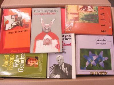 86 Bücher dünne gebundene Bücher Romane Sachbücher Erzählungen Novellen u.a.