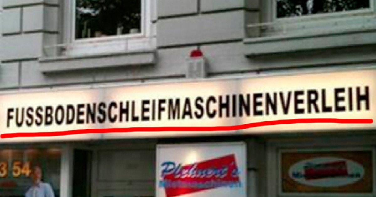 Deutsche Lange Wörter