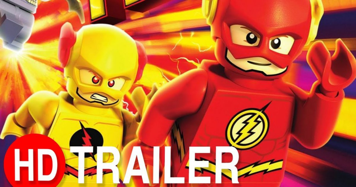 DC SUPER HEROES  - THE FLASH  - Trailer #1 Deutsch HD